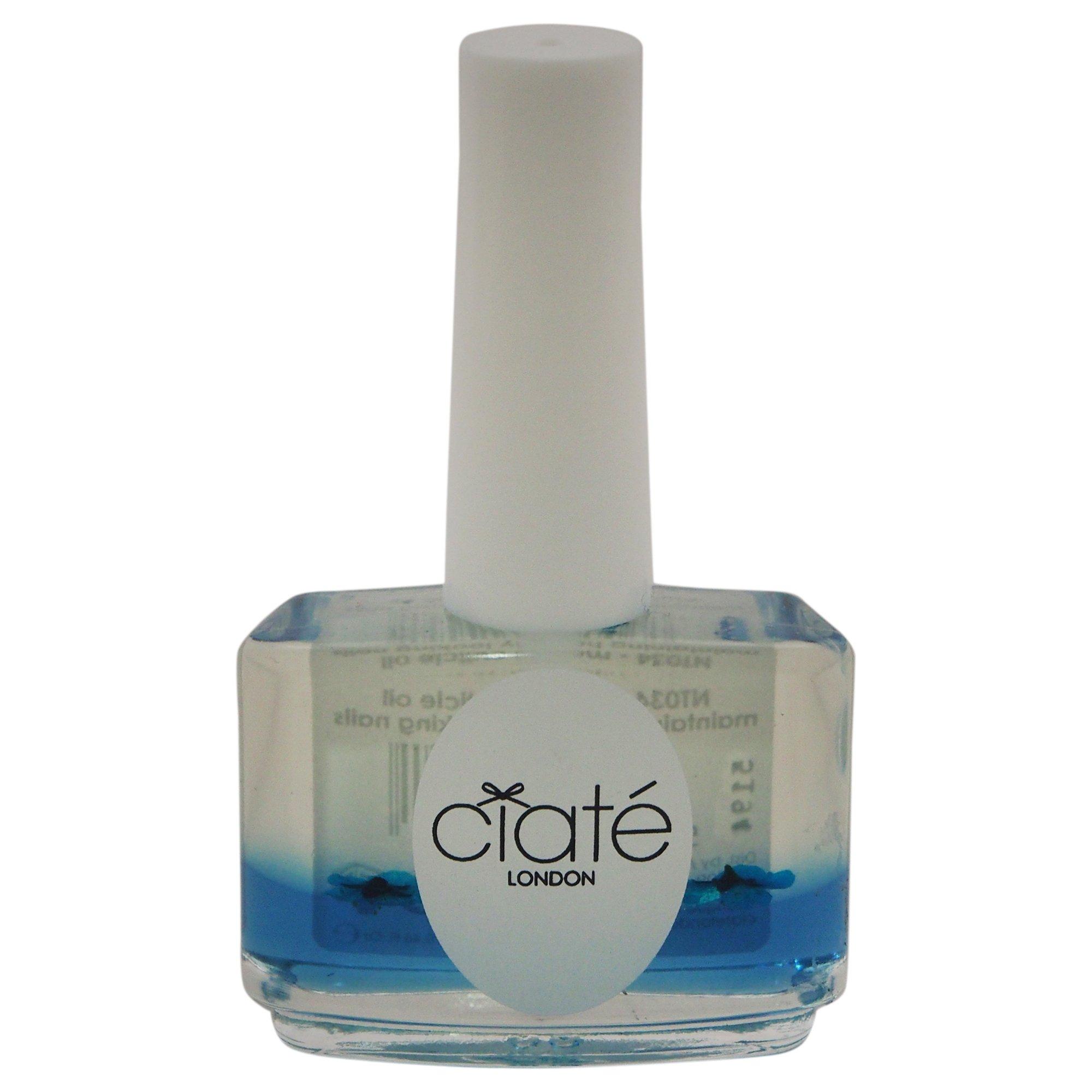 Ciate London Marula Cuticle Oil Maintaining Healthy Looking Women's Nail Polish, 0.46 Ounce