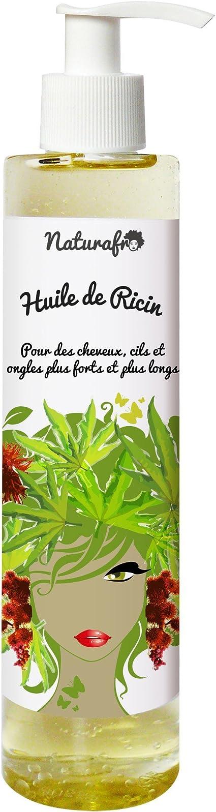 Naturafro - Aceite de ricino para cabello, pestañas y uñas (100 ml): Amazon.es: Belleza