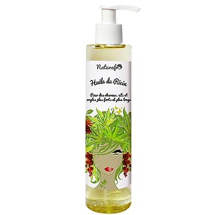 Naturafro-Aceite de ricino para cabello, pestañ ...