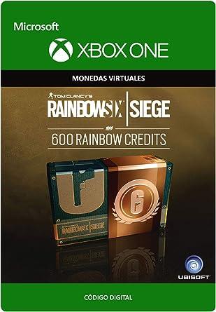 Tom Clancys Rainbow Six Siege Currency pack 600 Rainbow credits ...