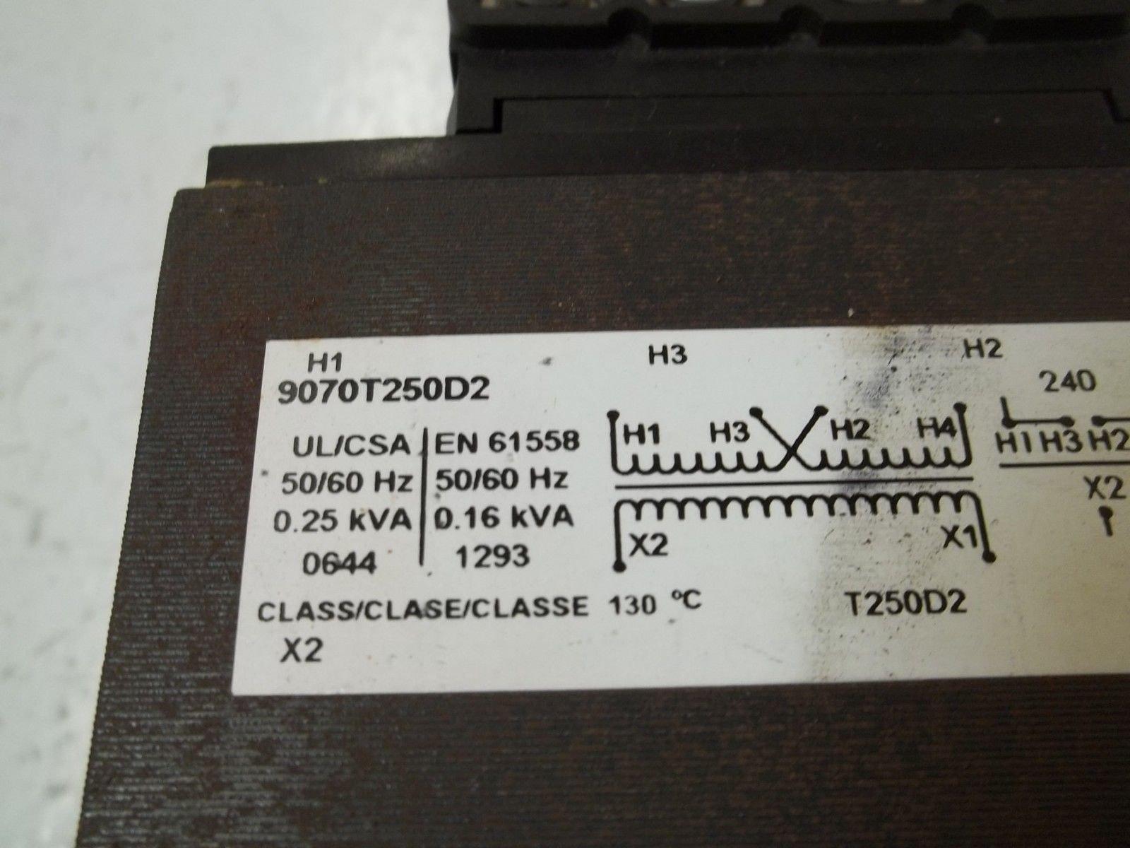 Control Transformer, 250VA, 240/480VAC