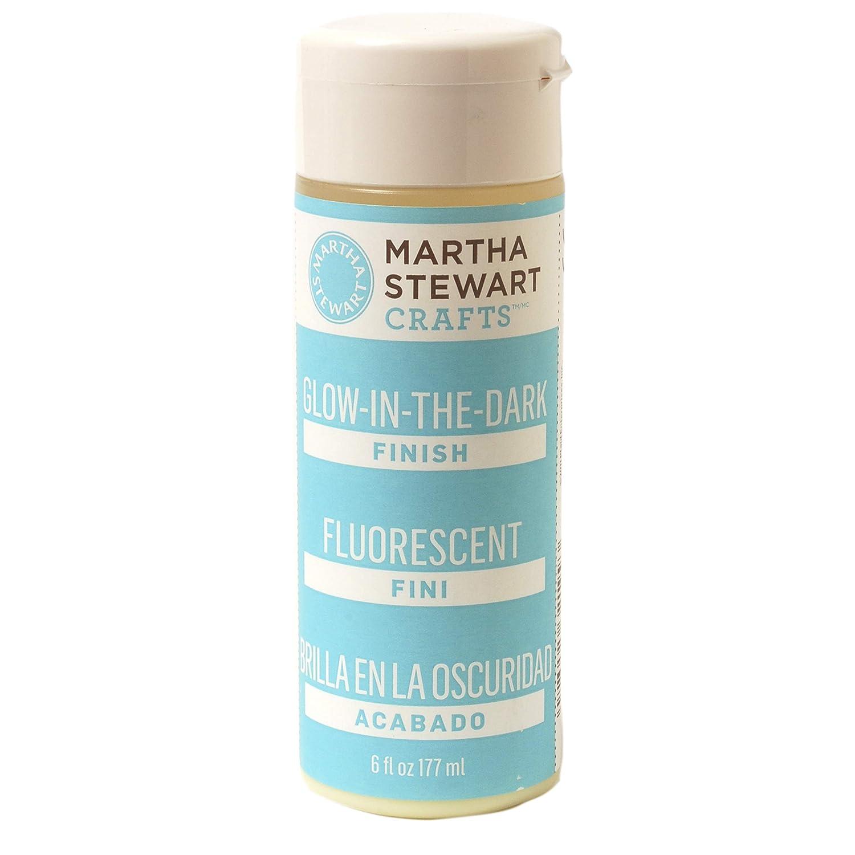 Martha Stewart Crafts Martha Stewart Glow In The Dark Finish 6 Ounces Paint 6 Oz