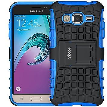 ykooe Handyhülle kompatibel für Galaxy Grand Prime Hülle, (TPU Series) Drop Resistance Handys Schutz Hülle mit Ständer für Gr