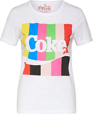 Only 15181531 Coke Box Camisetas Y Camisa DE Tirantes Mujer Bright White S: Amazon.es: Ropa y accesorios