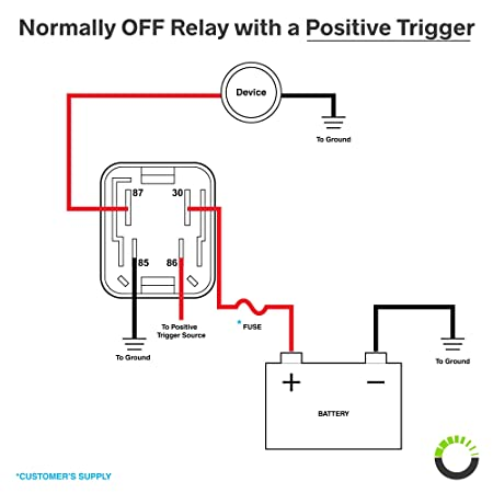 4 Prong Relay Diagram - General Wiring Diagrams on