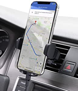 AUKEY Car Phone Mount Air Vent Phone Holder for Car Compatible with iPhone 11 Pro/11/Xs/8/7/6, Galaxy S10/S10+/S9/S9+, Note 10 and More