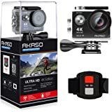 AKASO EK7000 4K WIFI Sports Action Camera Ultra HD 12MP Waterproof DV Camcorder 170 Degree Wide Angle 2 Inch LCD Screen w/ 2.4G Wireless Remote Control/ 2 Rechargeable Batteries/ 19 Mounting Kits