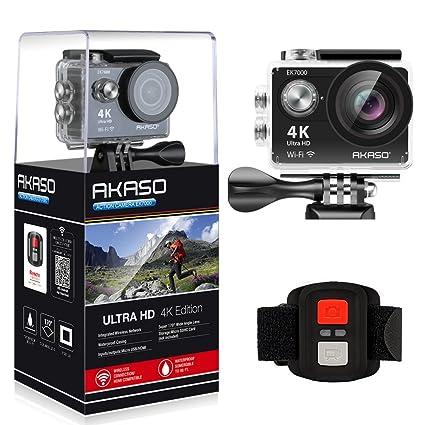 amazon com akaso ek7000 4k wifi sports action camera ultra hd rh amazon com Camcorder Remote Control Canon Professional Cameras