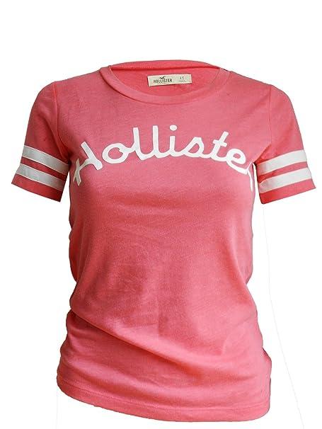 Hollister - Camiseta - para mujer Rosa rosa 38