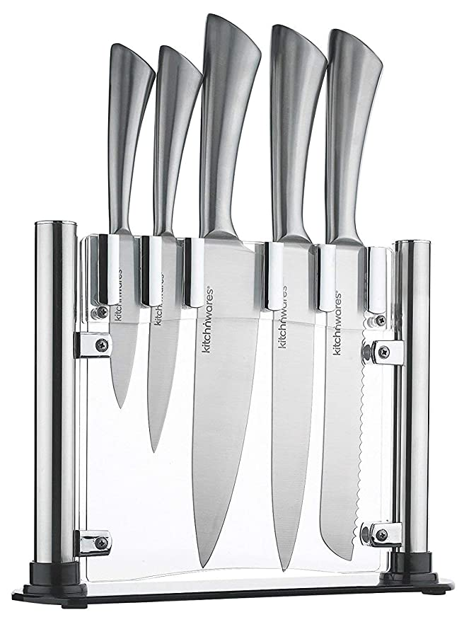 Review Knife Set With Acrylic