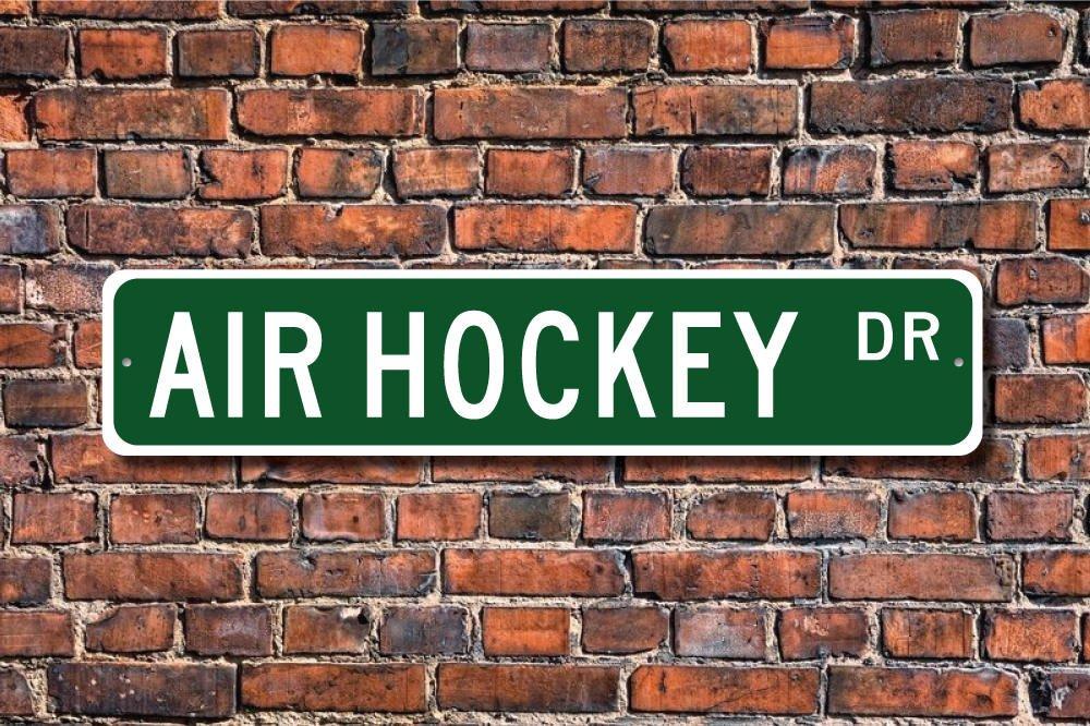 Dozili Cartel de Hockey de Aire Texto en inglés Air Hockey ...