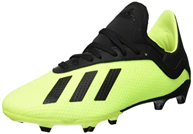 wholesale dealer 2eee7 1cff6 adidas Boys X 18.3 Fg J Footbal Shoes Core BlackSolar Yellow,