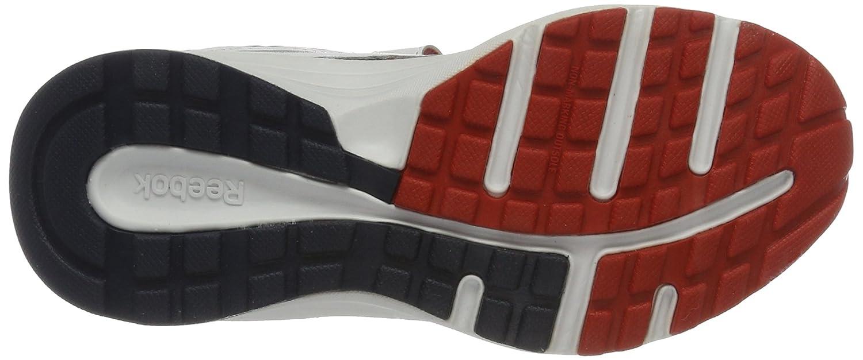 Reebok Almotio Rs 2v, Scarpe Running Bambino, Multicolore (White/Collegiate Navy/Motor Red/Silver), 33 EU