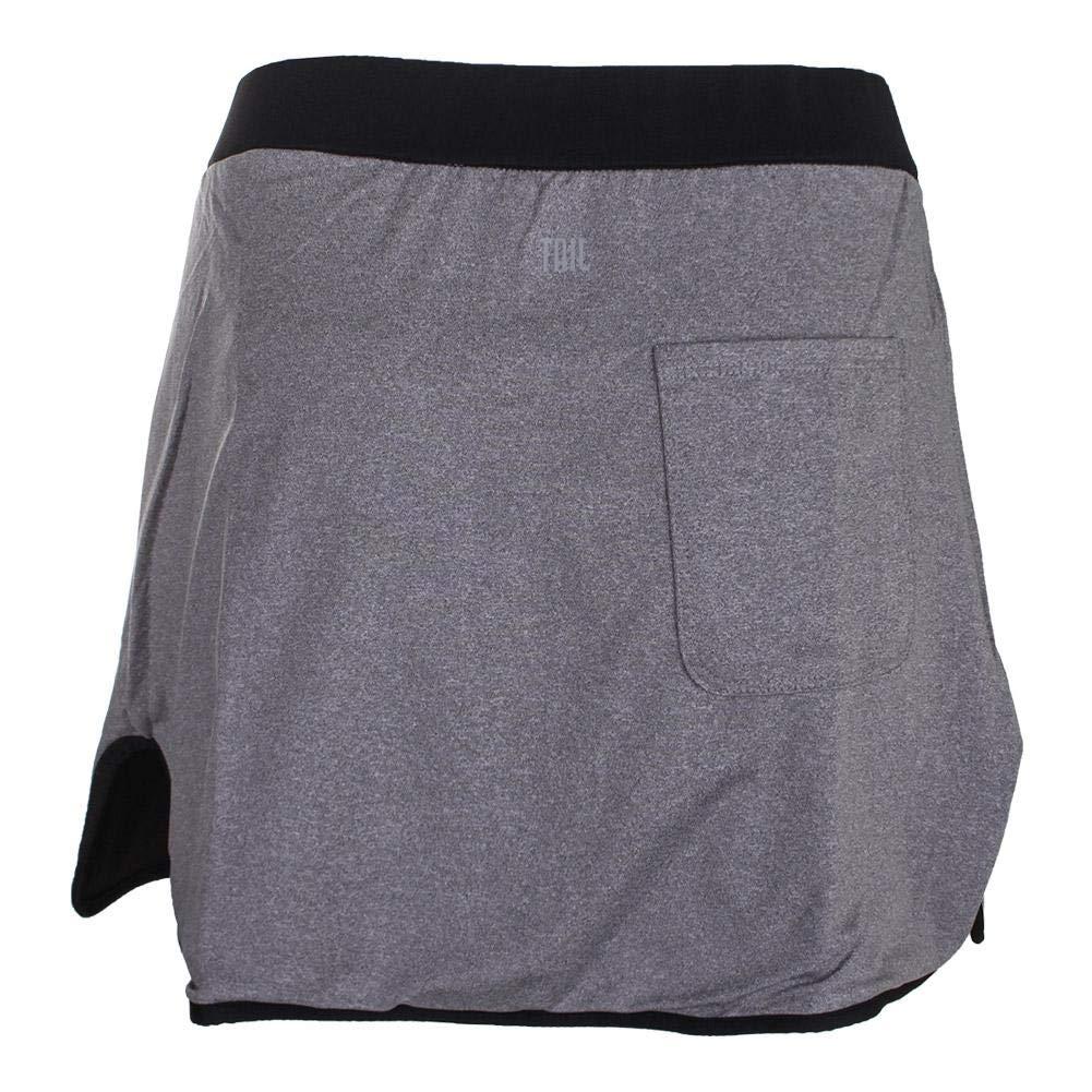 Tail Activewear Womens briel Reversible Skirt Large Heather//Black