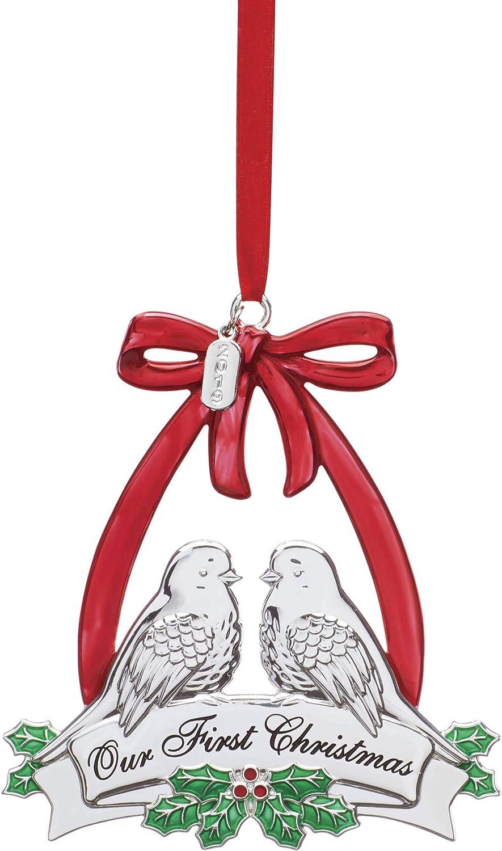 Lenox 884927 2019 Our 1st Christmas Dove Ornament