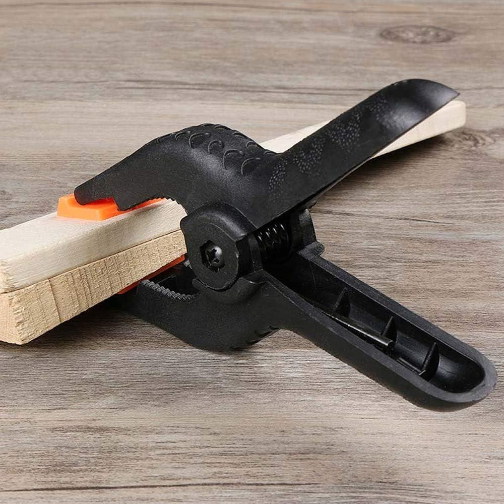 Morsetti a molla in nylon da 10,2 cm 6 pezzi RtottiM per la lavorazione del legno e la fotografia