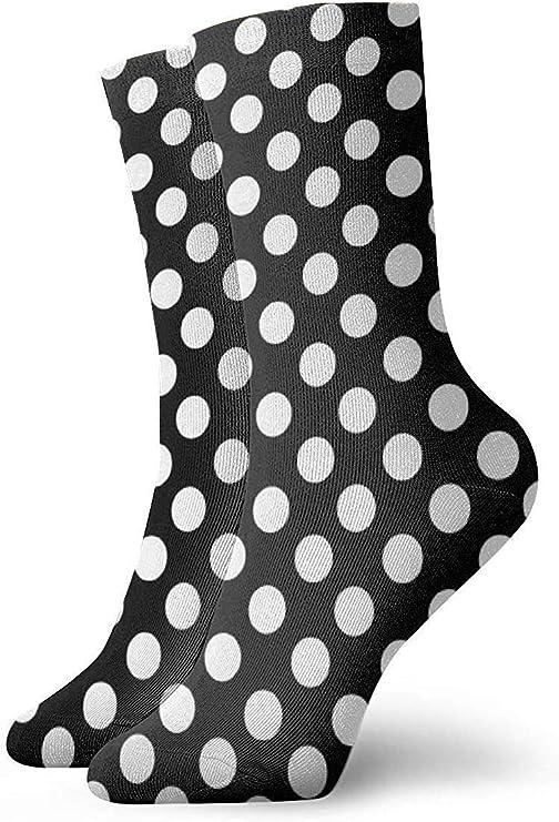 Calcetines cortos de algodón para adulto, color blanco y negro ...