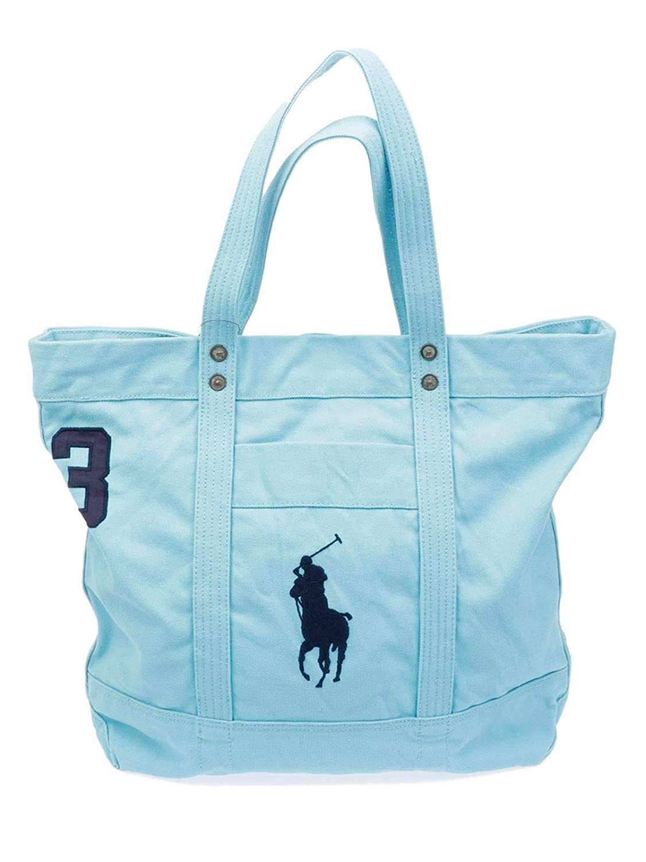 Ralph Lauren Mujer A92al549bh003lightblue Azul Claro Algodon Bolso ...
