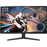 "LG Ultragear 32GK650F-B 32"" QHD Gaming Monitor, 5ms (GTG), 144 Hz, HDMI, Radeon FreeSync, Narrow Bezel, Black"