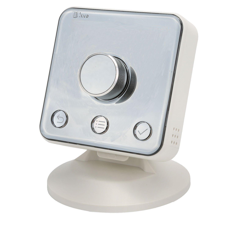 Supporto per termostato Hive Active Heating di Holaca colore bianco