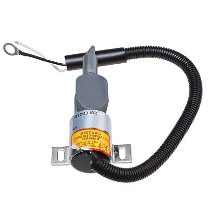 Amazon com: Mover Parts Fuel Stop Solenoid 1700-4061