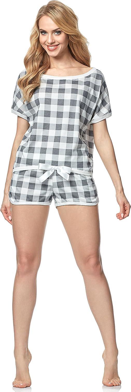Italian Fashion IF Pijama Camiseta y Pantalones Mujer 1D2L 0227