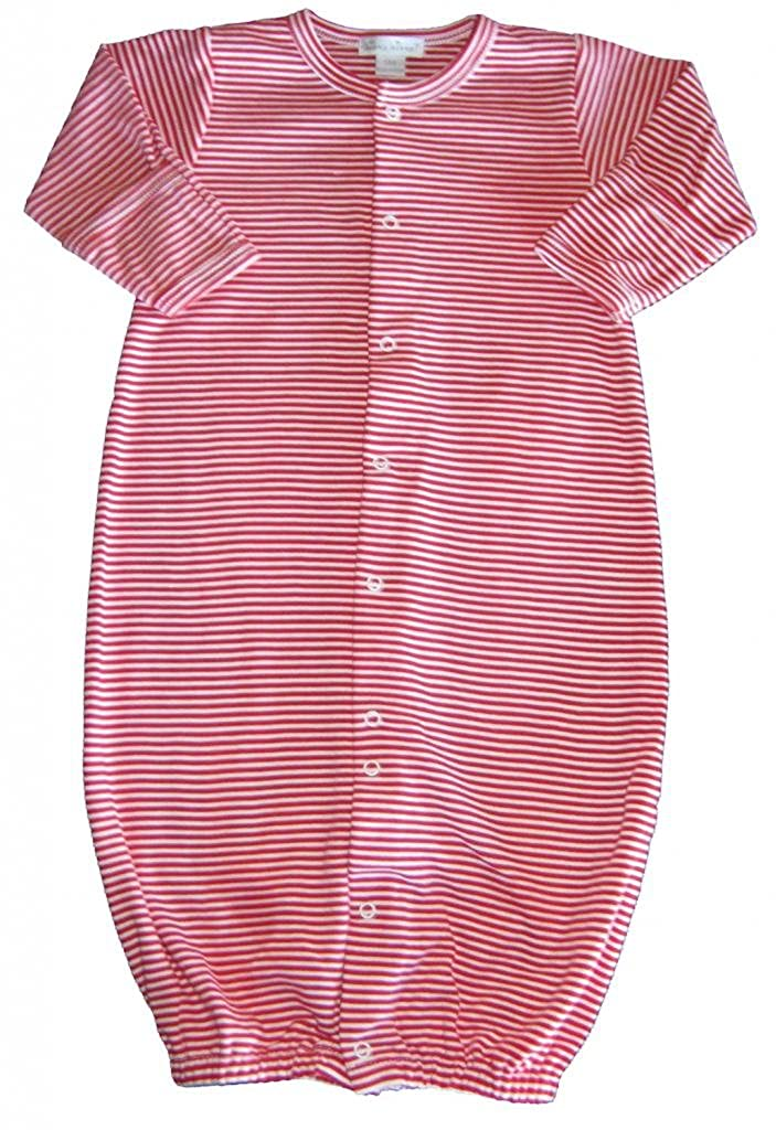 Amazon.com: Kissy Kissy Baby Essentials Striped Convertible Gown ...