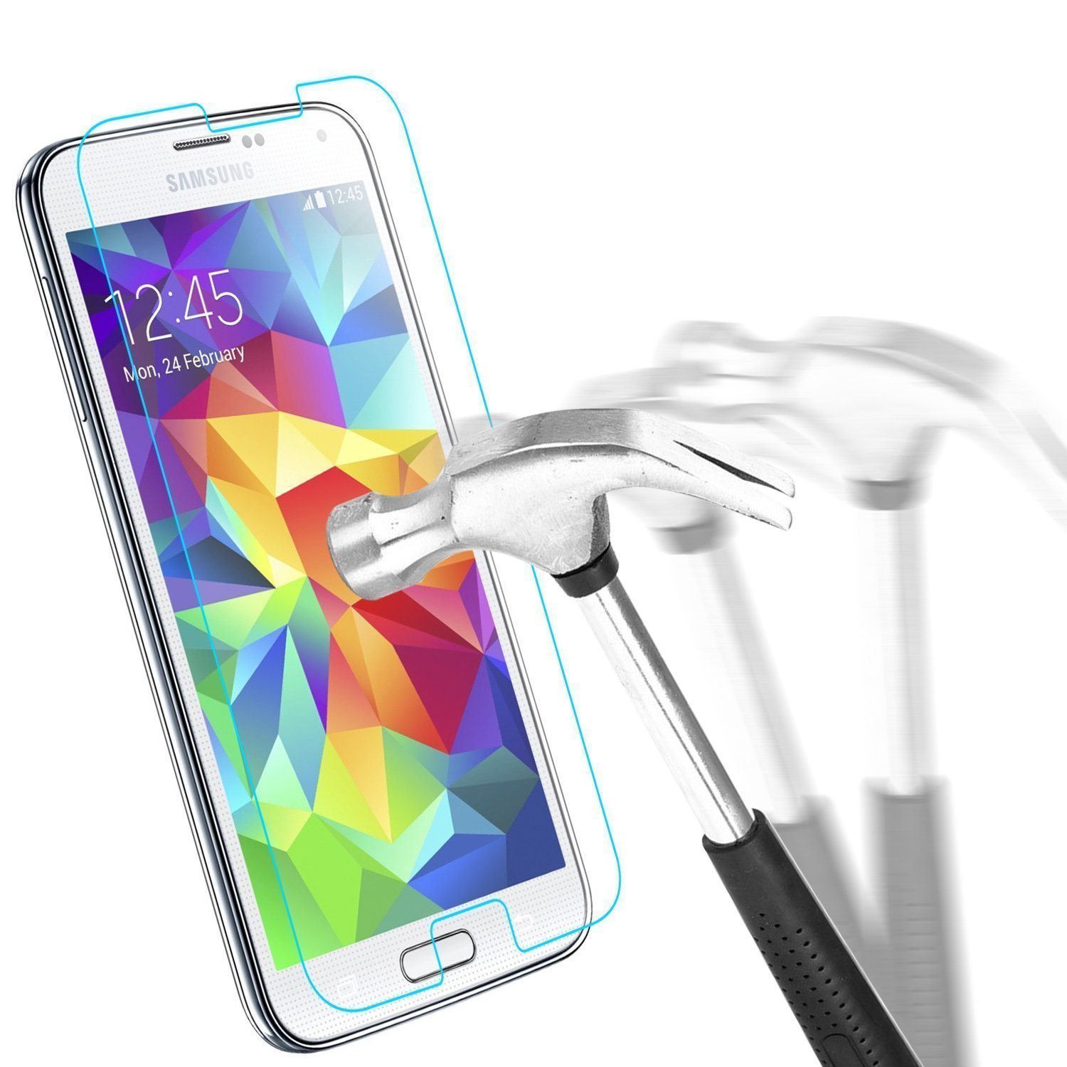 iJQ Samsung Galaxy Ace 3 Real Explosion Gorilla Tempered Glass Screen Protector And Screen Stylus Pen Amazon Electronics