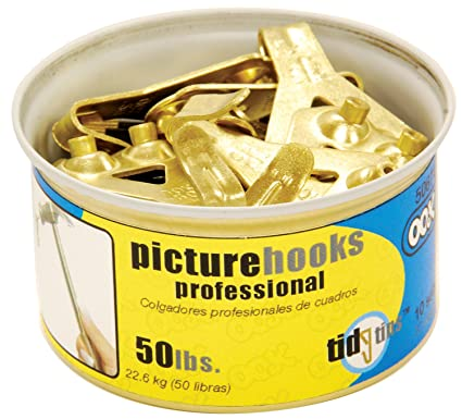 Amazoncom Ook 50674 50 Professional Picture Hooks In Tidy Tin 10