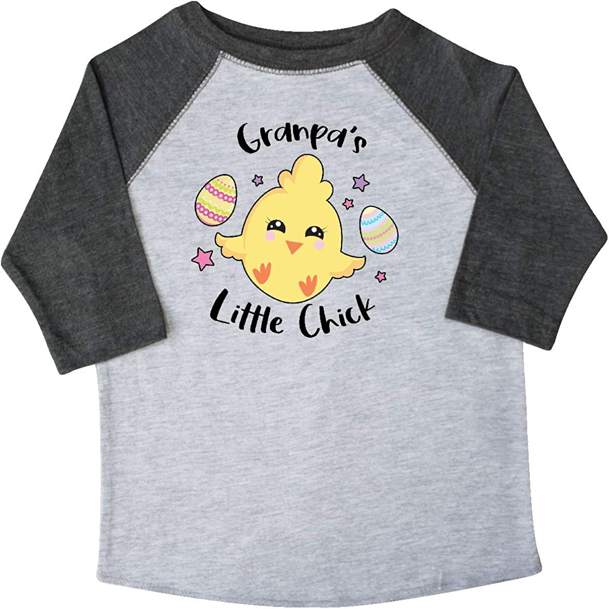 inktastic Happy Easter Granpas Little Chick Toddler T-Shirt