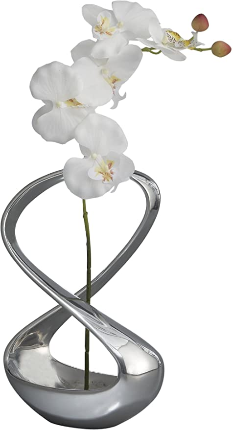 Amazon Namb Infinity Vase 12 Inch Metal Alloy Home Kitchen