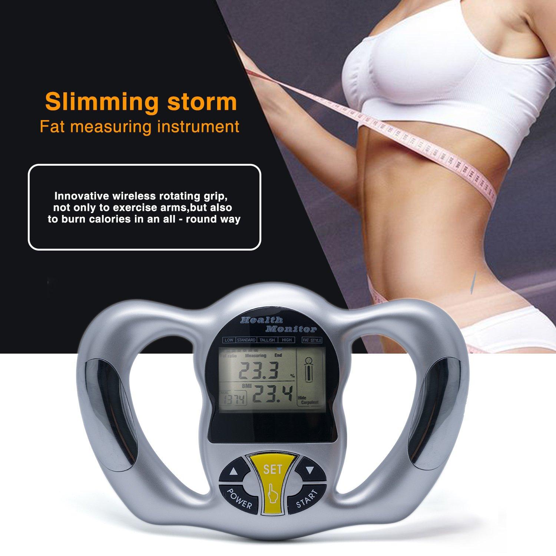 Amazon com: ZUZU Body Fat Caliper SUJING Digital Body Fat