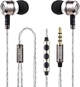 Sephia Wired Earbuds with Microphone, Noise Isolating Earphones, Bass Driven Sound, in Ear Headphones, Compatible with iPhone, iPad, Tablets, Samsung and Android Smartphones