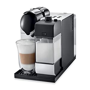 Nespresso Lattissima Plus Original Espresso Machine with Milk Frother by De'Longhi, White