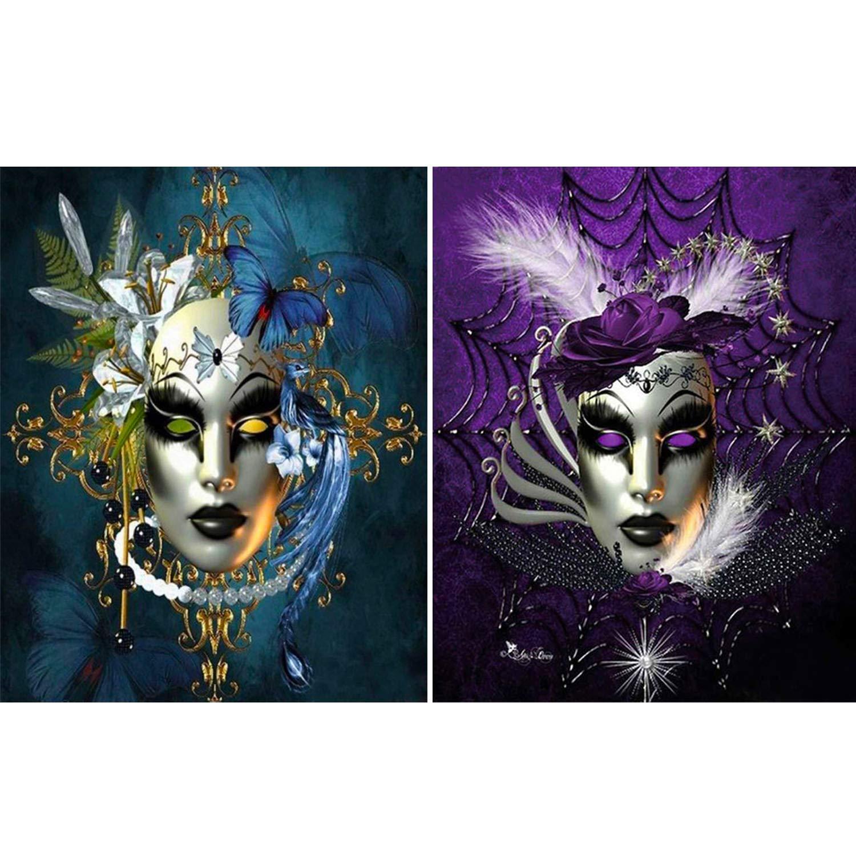 2 Pinturas por Diamantes Kit Completo - 7XJX217H