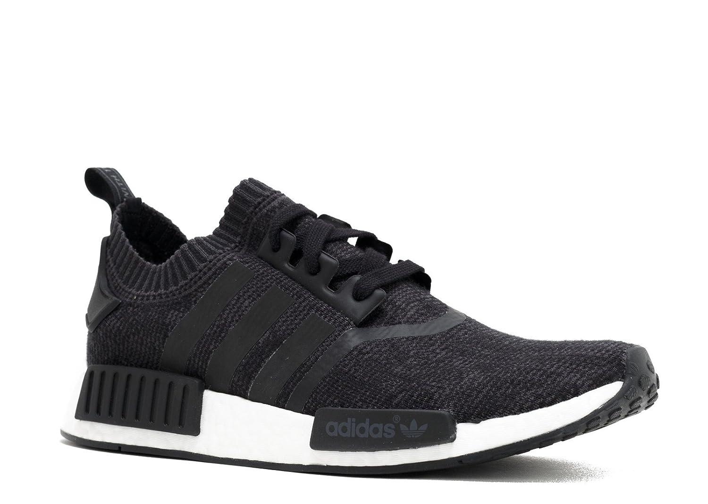 Core black Adidas Originals Men's Primeknit NMD_R1 Running shoes (Black)