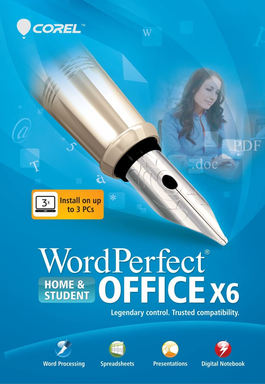 WordPerfect Office X6 Home & Student [Download]