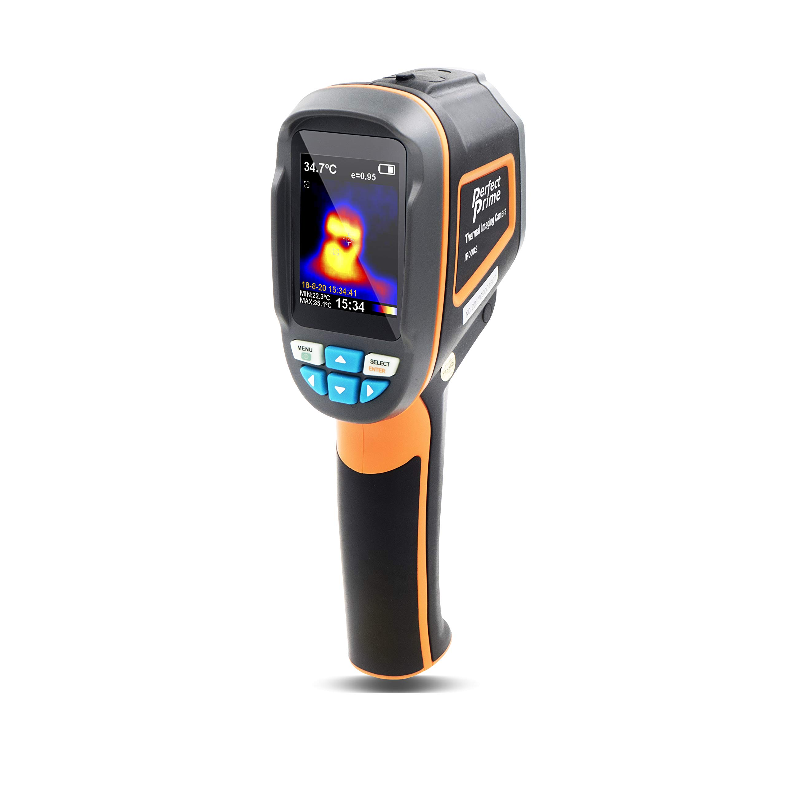 Perfect-Prime IR0002, Infrared (IR) Thermal Imager & Visible Light Camera with IR Resolution 3600 Pixels & Temperature Range from -20~300°C, 6Hz Refresh Rate by PerfectPrime