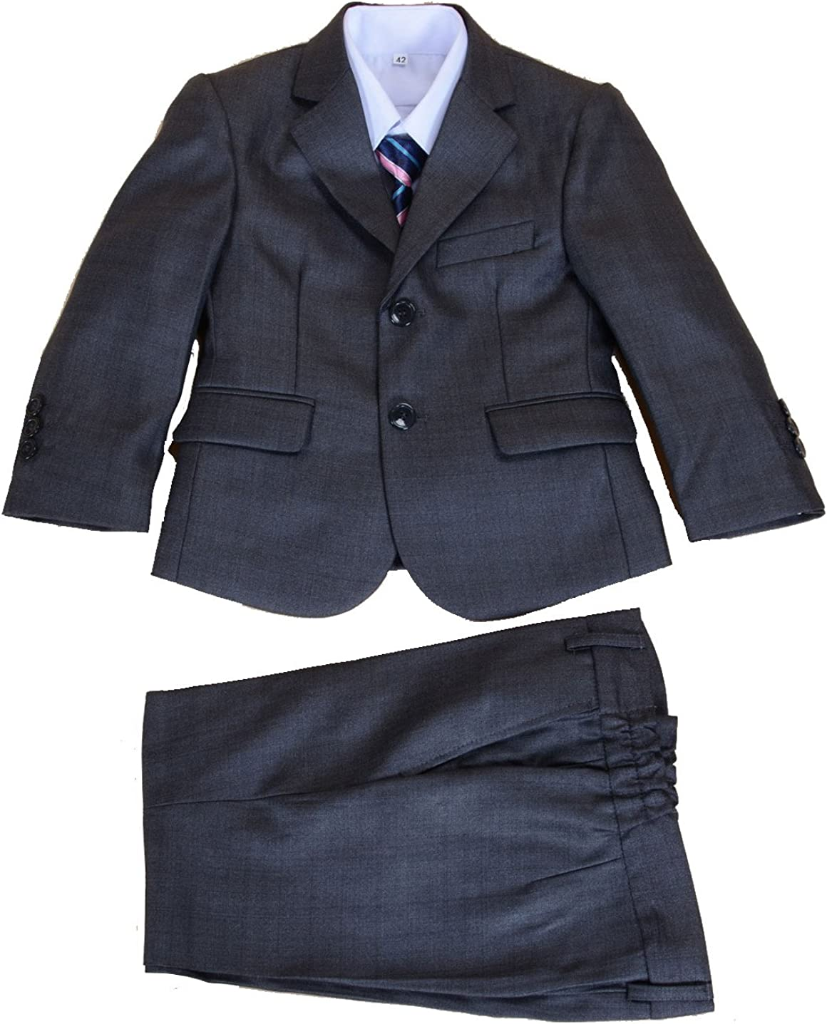 Cinda Clothing Big Boys 5 Piece Suits Wedding Page Party Prom
