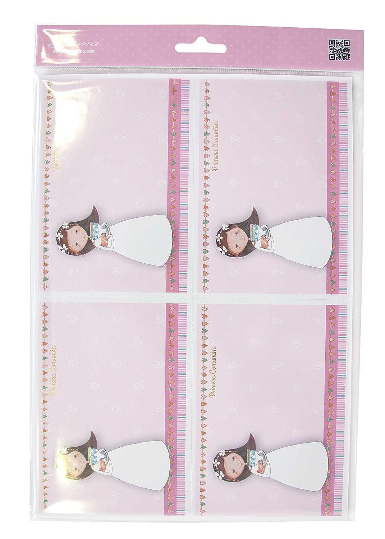 Edima–Tasche von 20Einladungen und Über Pink Meiner Erstkommunion DIY (413722-b)