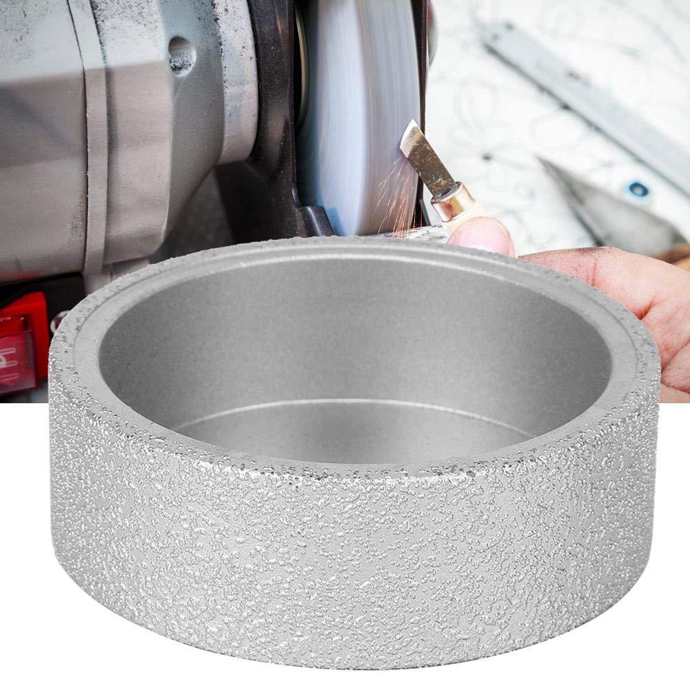 3.0cm Muela de 7,3 cm para amoladoras angulares Amolado de diamante soldado Disco de muela plana Disco seco h/úmedo