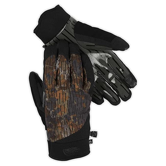 34820acf1 The North Face Sierra Park Etip Glove - Asphalt Grey/Brindle Brown ...