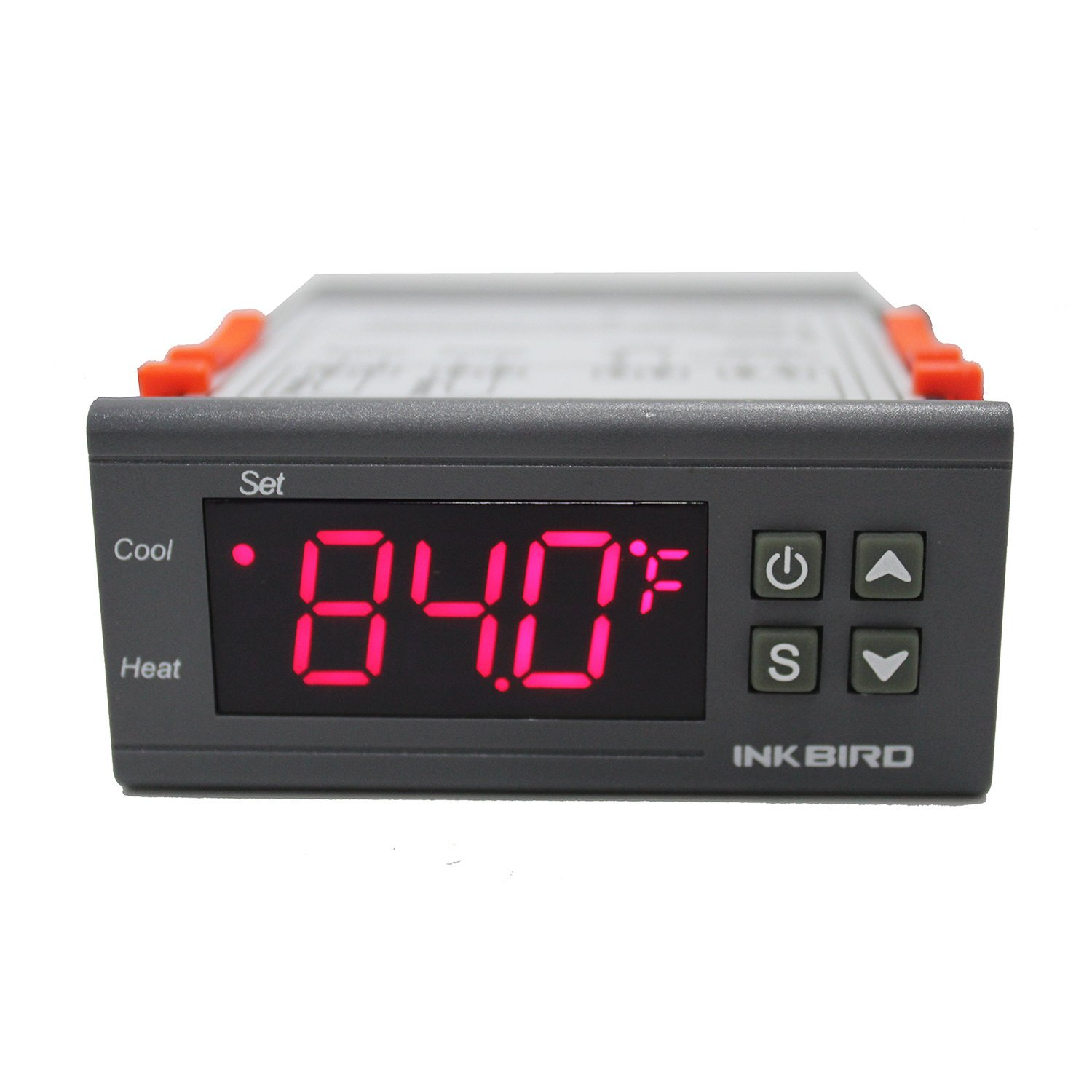 12 Volt Inkbird ITC-1000 Dual Stage Digital Temperature Controller Fahrenheit & Celsius Thermostat with Sensor for 3D Printer,Freezer,Fridge,Hatching ect.