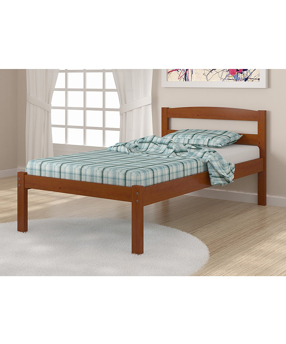 amazoncom solid wood espresso twin bed kitchen  dining -