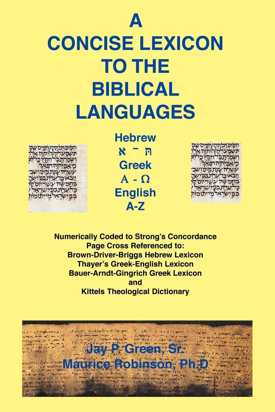 A Concise Lexicon to the Biblical Languages