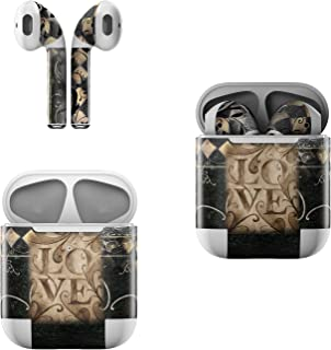 product image for Skin Decals for Apple AirPods - Love's Embrace - Sticker Wrap Fits 1st and 2nd Generation
