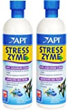 (2 Pack) API Stress Zyme Freshwater and Saltwater Aquarium Cleaning Solution