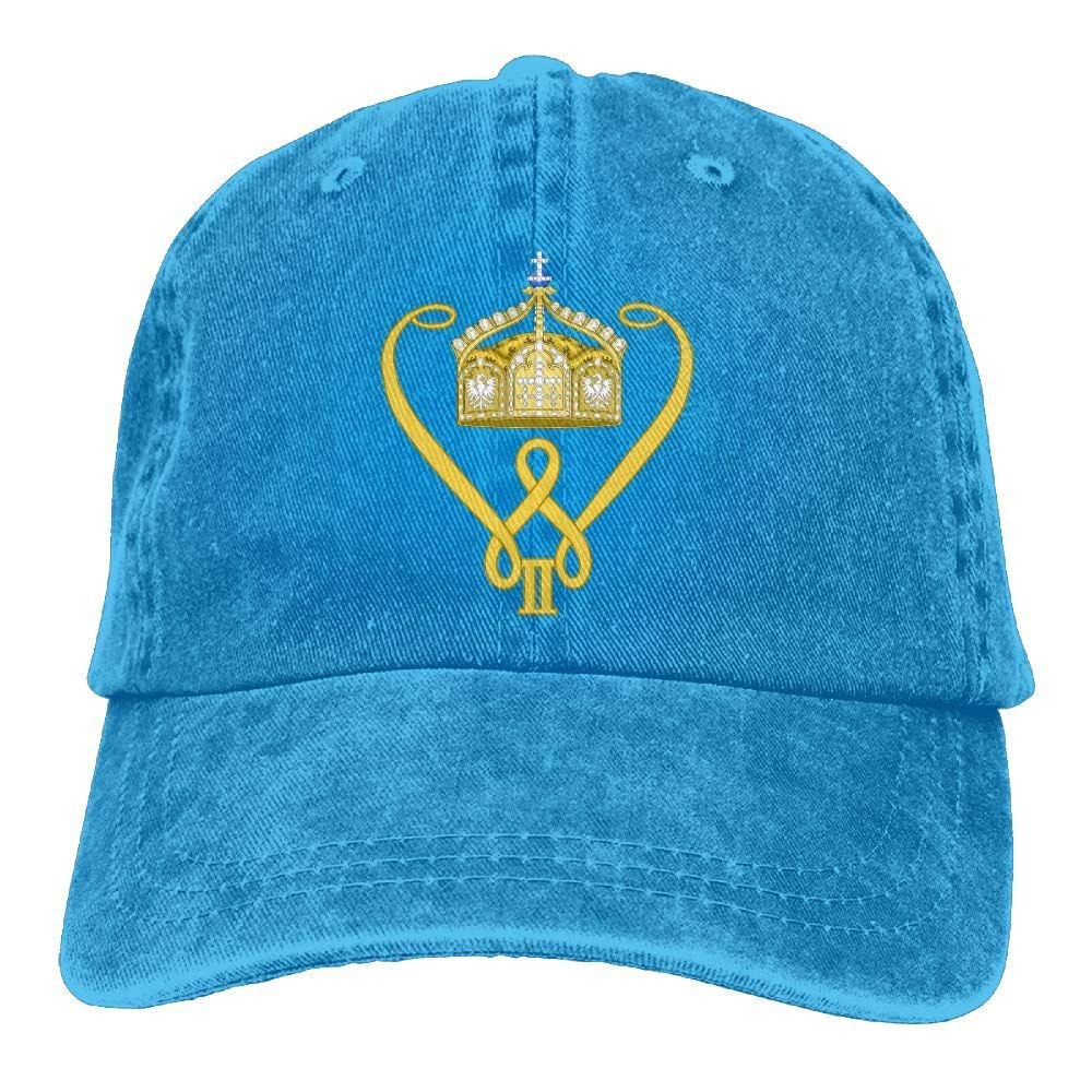 518fc70c698 Amazon.com  Co pello! cap Kaiser Wilhelm II Trend Printing Cowboy Hat  Fashion Baseball Cap for Men and Women Black  Clothing