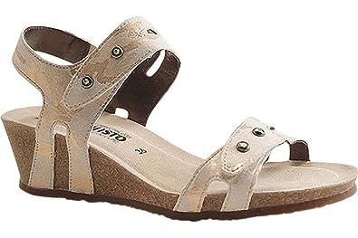 6c3a8035bd1 Mephisto Minoa - Nude Anna (Leather) Womens Sandals 39 EU: Amazon.co ...