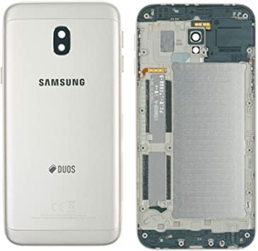 Samsung Galaxy J3 2017 SM-J330F Tapa de batería Back Cover Cámara Lente Cover Carcasa Oro: Amazon.es: Electrónica
